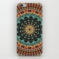 Sunset Desert Mandala iPhone & iPod Skin