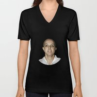 She Shaved Her Head For Our Sins Unisex V-Neck
