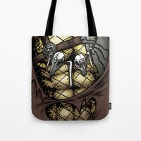 Hunting Costume Tote Bag