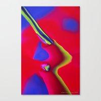 Broken Artery Canvas Print