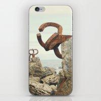 Peine del Viento iPhone & iPod Skin