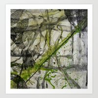 Abstract #77 Art Print