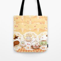 Dutch Sweet Tea Tote Bag