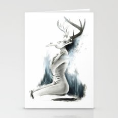 The embrace of loneliness Stationery Cards