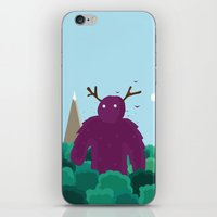 Life Swarms with Innocent Monsters iPhone & iPod Skin