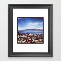 Reykjavik, Iceland Framed Art Print