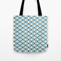 Cupcake Ovals Tote Bag