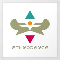 Ethnodance Art Print