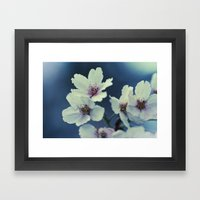 Blossoming - Beautiful Spring Blooms Framed Art Print