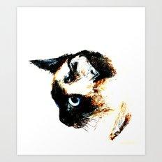 Siamese Cat 2015 Edit Art Print