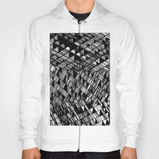 Moving Panes Black & White Hoody