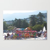 Carnival in Yalta Canvas Print