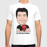 Simon Cowell - The First… Mens Fitted Tee White SMALL