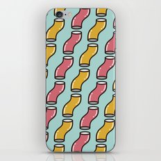 Curved Cylinder Pattern. iPhone & iPod Skin