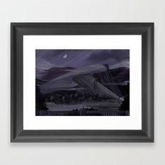Gray Gloom Framed Art Print