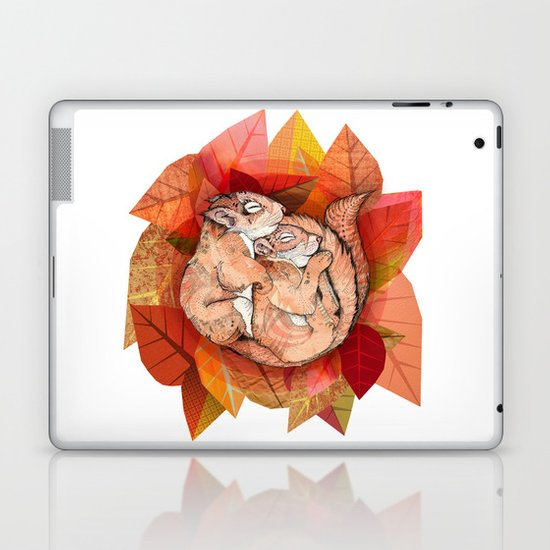 Squirrel Spoon Laptop & iPad Skin