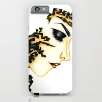 iPhone & iPod Case featuring What's left of me  by Priscilla Agoe