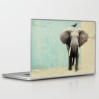 minimalist Laptop & iPad Skins featuring friends for life  by Vin Zzep