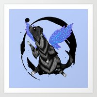 To Fly Free Art Print