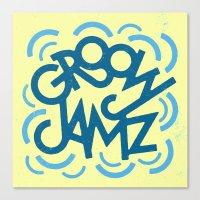 Groovy Jamz Canvas Print