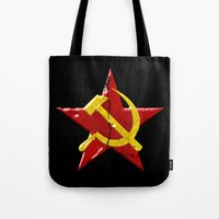 Soviet symbol Tote Bag