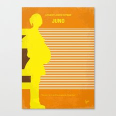 No326 My JUNO minimal movie poster Canvas Print