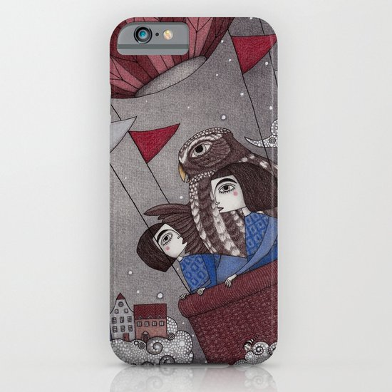 Through the Clouds and Back Again iPhone & iPod Case