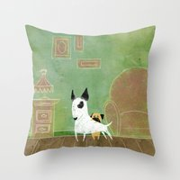 Let me see Throw Pillow