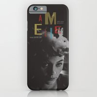 iPhone & iPod Case featuring Amelie movie poster by Adam Juresko