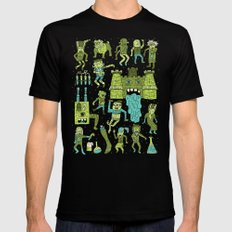 Wow! Frankensteins! Mens Fitted Tee Black SMALL