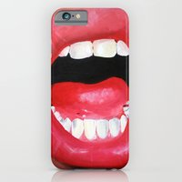 iPhone & iPod Case featuring Oral Fixation 1.4 by Katie Troisi