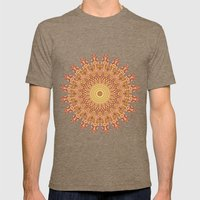 Millefiori Karma-Canyon colorway Mens Fitted Tee Tri-Coffee SMALL