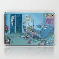 DC Sleeps Laptop & iPad Skin