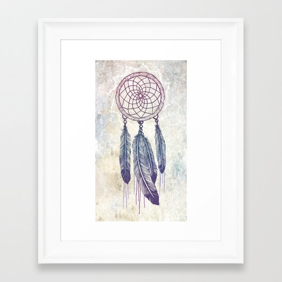 Catching Your Dreams Framed Art Print