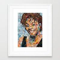 African woman Framed Art Print