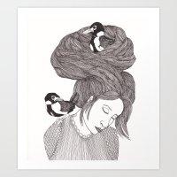 Nesting Part 2 Art Print