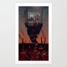 Pillar of Success Art Print