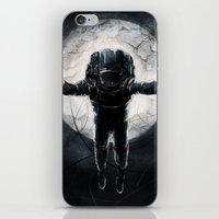 Lunar Figure  iPhone & iPod Skin