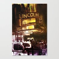 The Lincoln Canvas Print