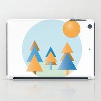tree stitches iPad Case