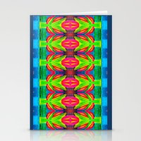 Tropical Abstract II - Painting Stationery Cards