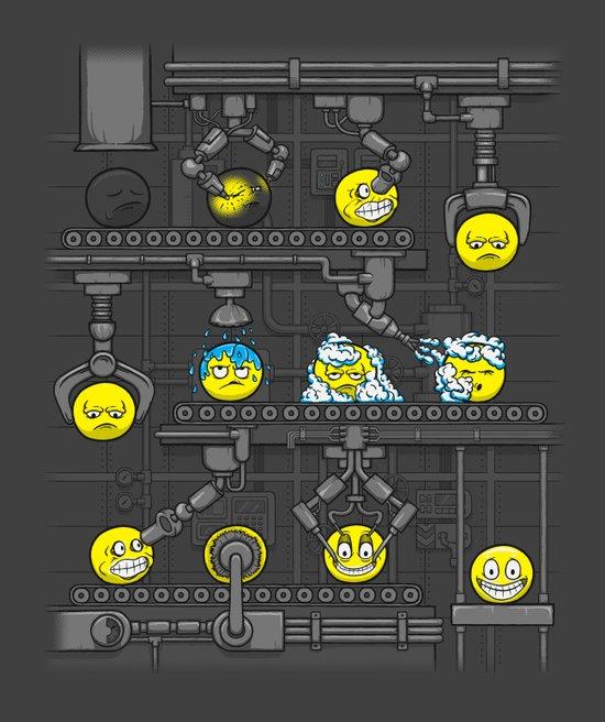 Smiley Factory Art Print