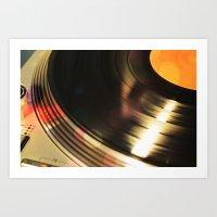 Vinyl 2 Art Print