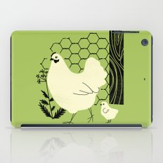 Hen and chick iPad Case