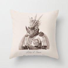 Alastair A. Cosaurus Throw Pillow