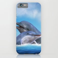 Dolphins iPhone 6 Slim Case