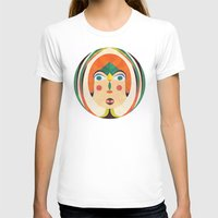Look Womens Fitted Tee White SMALL