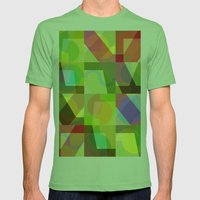 Colorful Truth. Shuffle 1 Mens Fitted Tee Grass SMALL
