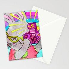 Bunny Rainbow Snapshots Stationery Cards