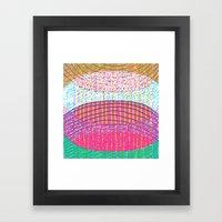 STACKZ Framed Art Print